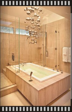 Modern Bathroom Chandeliers Lighting Ideas