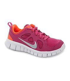 timeless design bb7c8 b9ce9 Nike Girls Free Run 4 Running Shoes  Dillards Cool Nike Shoes, Running  Shoes Nike