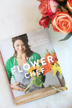 I recently received a copy of The Flower Chef and love it! Enter to win a copy of this beautiful book!
