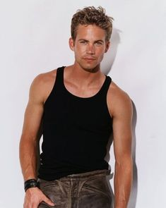 Young Paul Walker in Black Wif. is listed (or ranked) 8 on the list 27 Pictures of Young Paul Walker