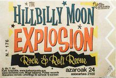 Entrada de The Hillbilly Moon Explosion, Kafe Antzokia, Bilbao. 2015  The Hillbilly Moon Explosion, Kafe Antzokia, Bilbao, 24/XI/2015.  http://denaflows.com/galerias-de-fotos-de-conciertos/h/hillbilly-moon-explosion/