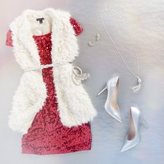 #Sequins and #fur for this New Years Eve look | rue21