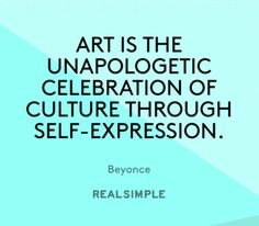 Inspiring words from Beyonce.