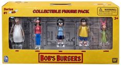 Bobs Burgers Bobs Burgers Mini Figure 5-Pack UCC Distributing Inc. - ToyWiz