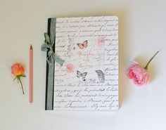 Composition Notebook writing journal thoughts & by Tesorobella