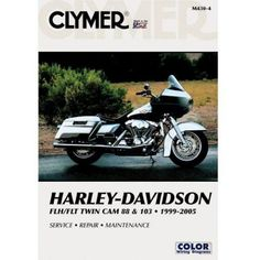 The most popular motorcycle repair manuals ideas are on pinterest clymer manual harley flh flt twin cam 1999 2005 fandeluxe Images