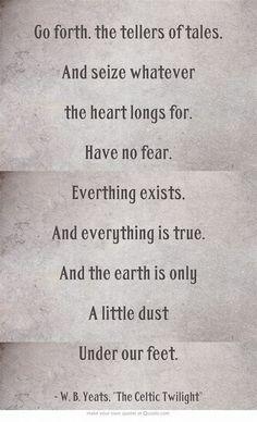 W.B Yeats quotes