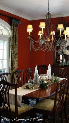 Our Southern Home | Christmas Home Tour {Downstairs} | http://www.oursouthernhomesc.com