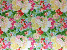 Fun floral chintz fabrics @ u-fab