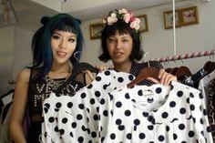 Trendy & unique women's fashion boutique in Tel Aviv, Israel #polkadot #croptop #fashion