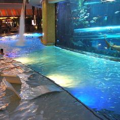 Golden Nugget Pool - Las Vegas, Nevada.