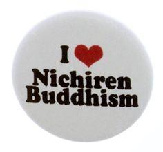 "I Love Nichiren Buddhism 1.25"" Magnet (heart) A&T Designs $6 got it :)"