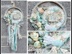 Mixed Media Place: Dream catcher by Sylwia + video