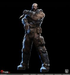 Gears of War 3: Character Portraits - Polycount Forum
