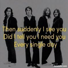 #TheBeatles - Got To Get You Into My Life