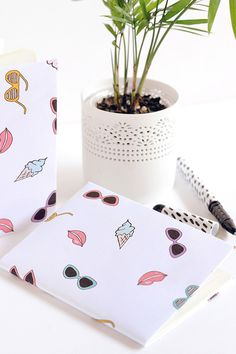 Summer lovin' notebook covers