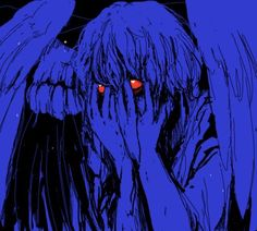 will love kill me before i kill it? Blue Aesthetic, Aesthetic Anime, Art Sketches, Art Drawings, Fotojournalismus, Arte Grunge, Arte Indie, Arte Obscura, Gothic Anime