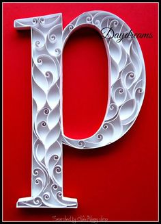 Made by Daydream- ABCs quilling (Searched by Châu Khang)