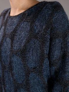 VANESSA BRUNO - Circular print knitted jumper 5