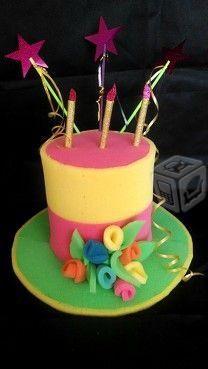 Sombreros hule espuma pastel