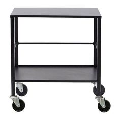Stoere zwart metalen office trolley van House Doctor shop je hier online.  ✓ Snelle levering ✓ Veilig betalen ✓ persoonlijke service<br />