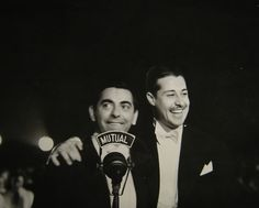 Eddie Cantor and Don Ameche, C.1930s