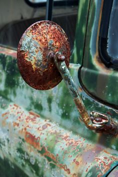 Rust | さび | Rouille | ржавчина | Ruggine | Herrumbre | Chip | Decay | Metal | Corrosion | Tarnish | Texture | Colors | Contrast | Patina | Decay | Rearview Mirror...