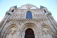 Church Notre-Dame-La-Grande in Poitiers, France
