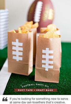I did this for my Super Bowl gathering!