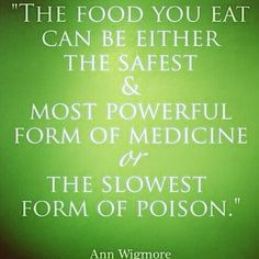 Food for thought. #foodasmedicine #youarewhatyoueat #loveyourbody #fitfam #healthyliving