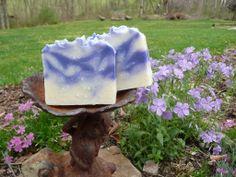 Handmade cold Process soap from The Enchanted Bath in Wayne County, West Virginia, USA. #enchanted #soap #handmade #gift #westvirginia