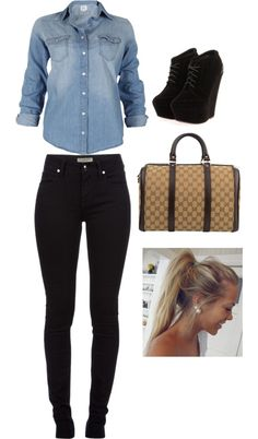 """Tenue Swag *__* ♥"" by one-direction81 ❤ liked on Polyvore"