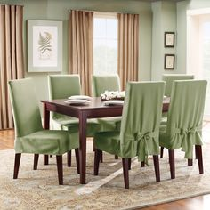 Sure Fit Stretch Plush Short Dining Room Chair Slipcover Brown Entrancing Large Dining Room Chair Covers 2018