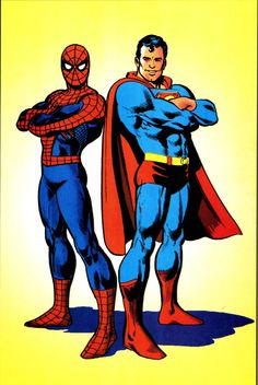 Spider-Man & Superman by John Byrne