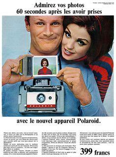 Publicité Polaroid 1965