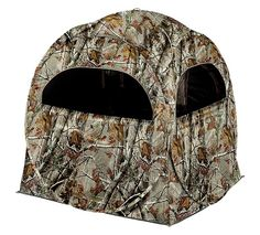 Ridge Hunter Terra Spring Steel Hunting Ground Blind | Bass Pro Shops #huntinggear