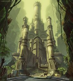 Jessica Dinh: CHEW MAGNA FORTRESS Original concept based on an excerpt from First King of Shannara by Terry Brooks.  Built in UDK. http://jessicadinh.blogspot.com/