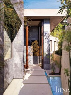 The exclusive Bird Streets of Los Angeles got a lot more special when interior designer Lori Dennis and architect Dean Larkin got their hands on this home. Featured in our  California Fall 2010 issue, #Luxe