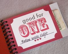 Love Coupon Pocket Book printable download by shopgreenlilydesigns, $4.99