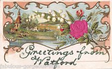 watford in Collectable Postcards Art Nouveau, Family Roots, Watford, Old Pictures, Applique, Silk, Photos, Painting, Baby Newborn