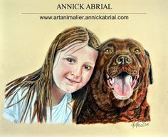 Portraits humains - Peintre animalier - portraitiste