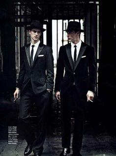 Boyishly Dapper Shoots - The Matthew Brookes GQ Italia December 2010 Editorial is Debonair (GALLERY)