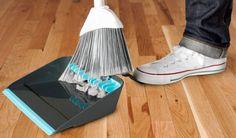 Broom Groomer Dustpan. Genius!!