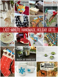 Last-Minute Handmade Holiday Gifts from @Tauni (SNAP!) #holiday #gifts