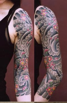 1000 images about tattoo sleeves on pinterest half for Tattoo lous piercing prices
