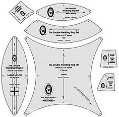 Double Wedding Ring Templates
