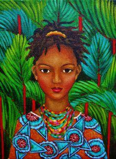 Kady dans la jungle by Amena Nathan