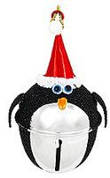 Cute party favors....since Christmas won't be too far away.  Penguin ornaments!