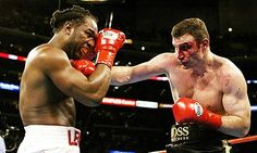 Lennox Lewis vs. Vitali Klitschko (Lewis TKO 6) best fight ever!!!!!