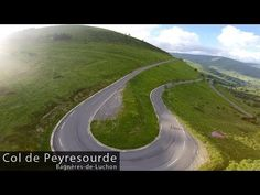 As one of the oldest climbs in the Tour de France, first featuring in starting from the spa town of Bagnères-de-Luchon the Col de Peyresourde is a dece. Life Is Like, Cycling, Coast, Country Roads, Youtube, The Incredibles, Tours, Mountains, Places